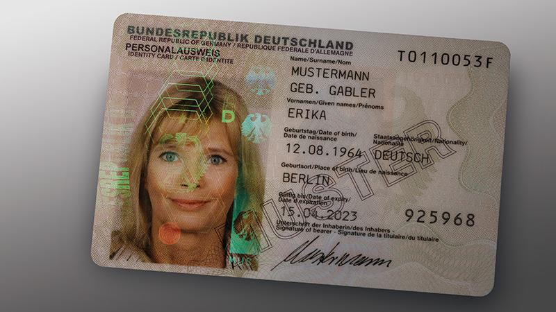 Kaufen Sie einen echten / gefälschten deutschen Personal ausweis