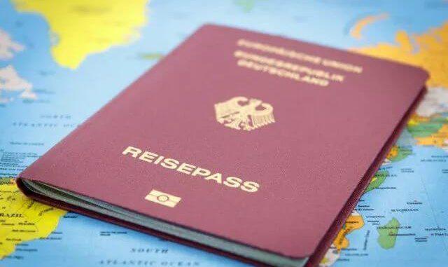 Registrierten deutschen Pass online kaufen